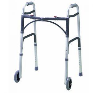 Drive Medical WA009 - Deambulatore con rotelle anteriori, richiudibile